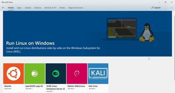 Review: the Windows Subsystem for Linux